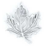 Pewter Maple Leaf Cut-out Pin
