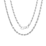 Rope Chain - 3mm - Sterling Silver Chain