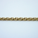 Small Cable - 18kt Layered Chain